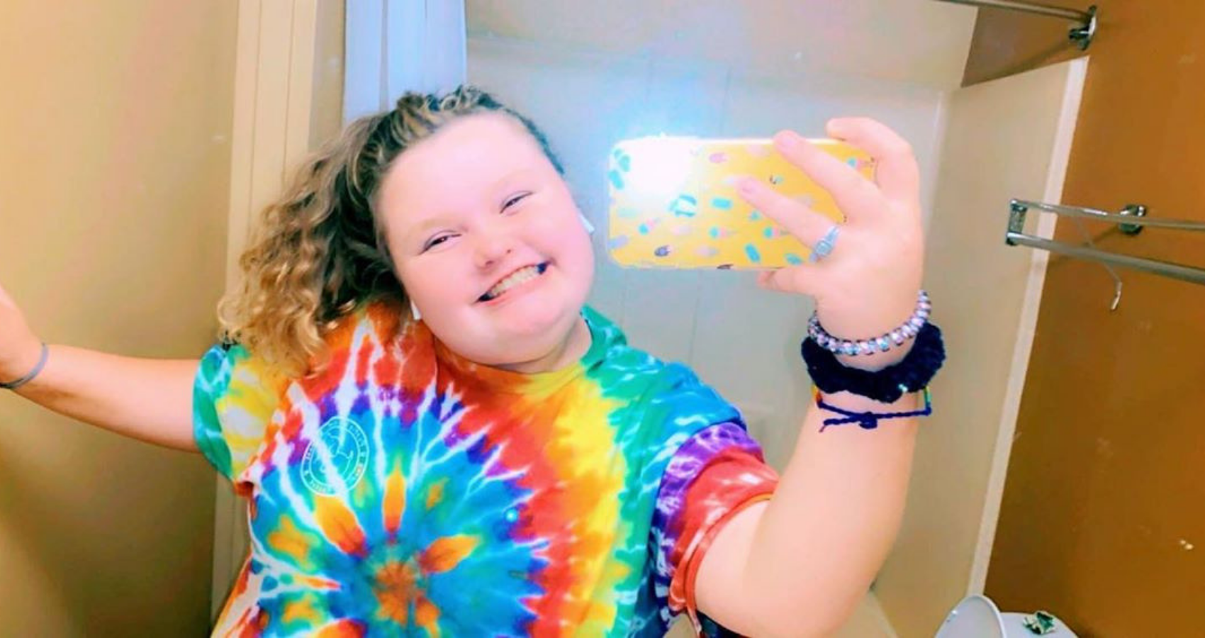 honey boo boo 'ok not to be ok' message gets support