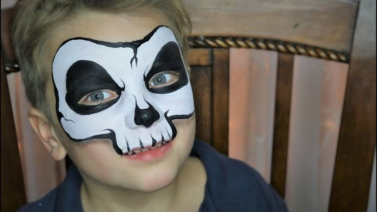 10 Cool Halloween Face Paint Ideas For Kids Moms