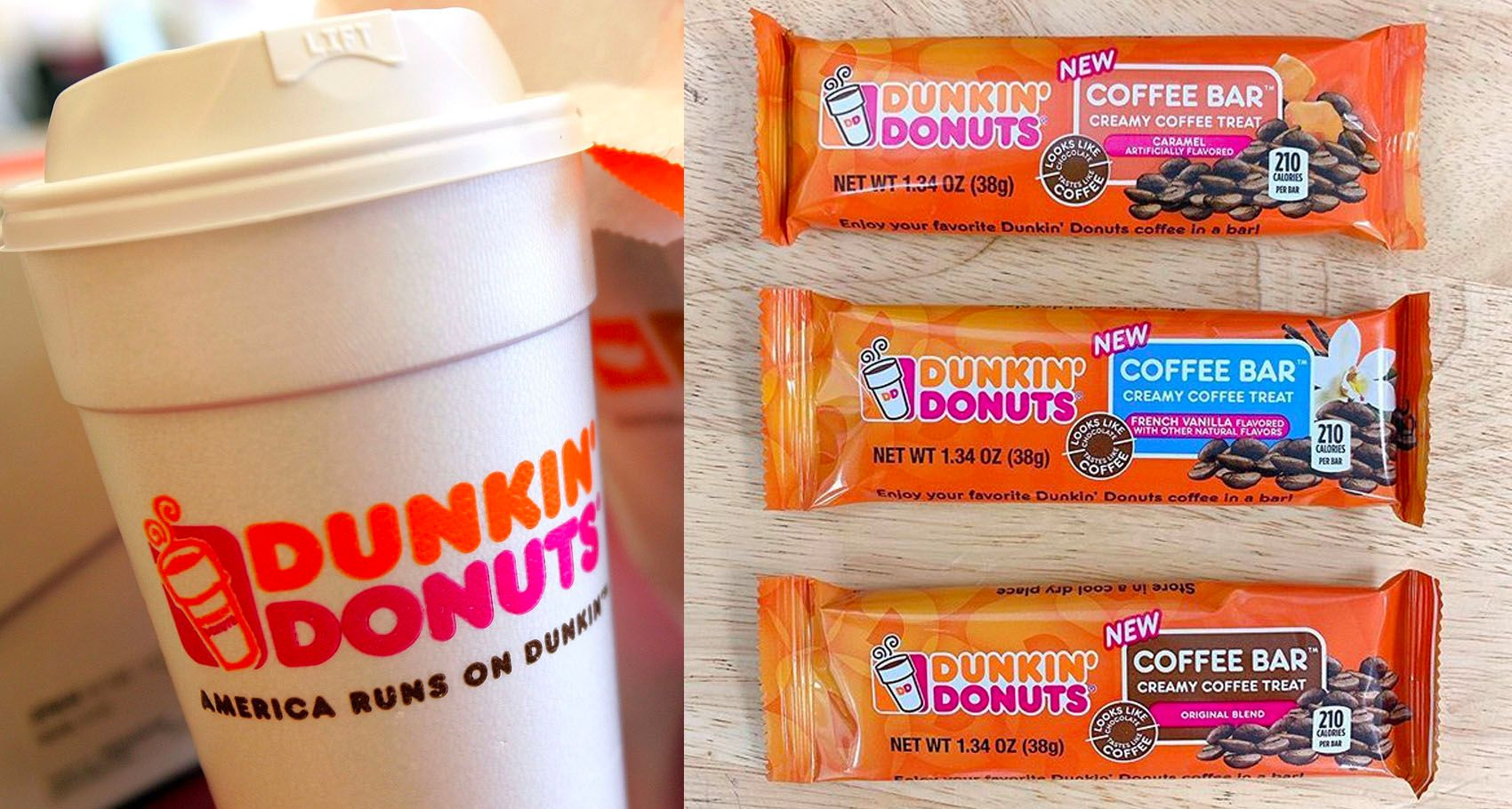 Dunkin' Donuts Launches Coffee Candy Bars With A Hit Of ...