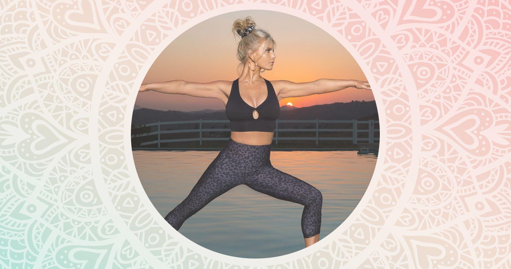 Jessica Simpson's Yoga Picture Reminds Us To Self-Care | Moms.com