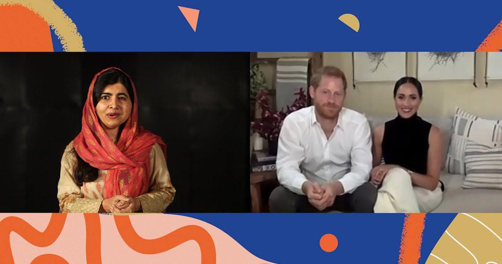 Girls' Education Is At Risk, Say Meghan Markle & Malala Yousafzai