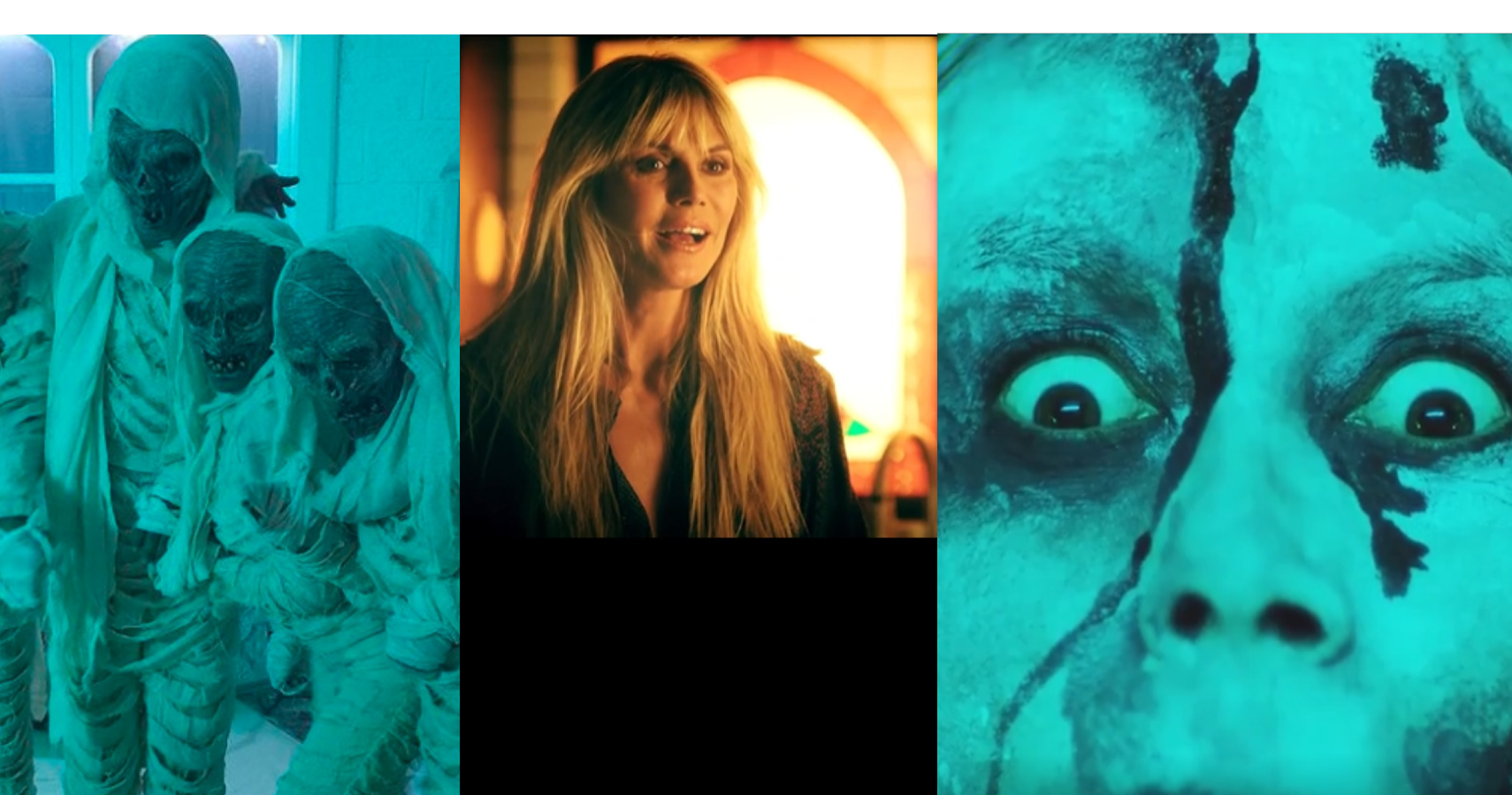 Heidi Klum Makes Short Film For Halloween To Keep Tradition
